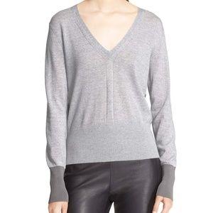 RAG & BONE V Neck Merino Wool Sweater - XS